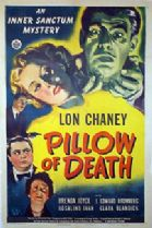 Pillow of Death 1945 DVD - Lon Chaney Jr / Brenda Joyce